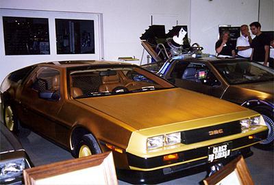 National Corvette Museum >> Golden DeLorean - VIN 20105